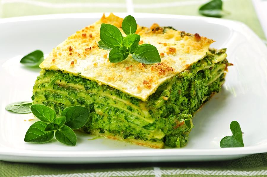 Диетический салат со шпинатом рецепт