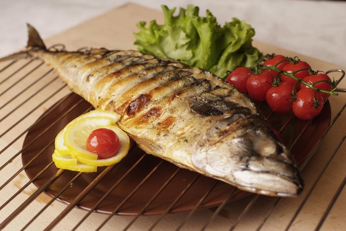 Рыба на гриле в домашних условиях на