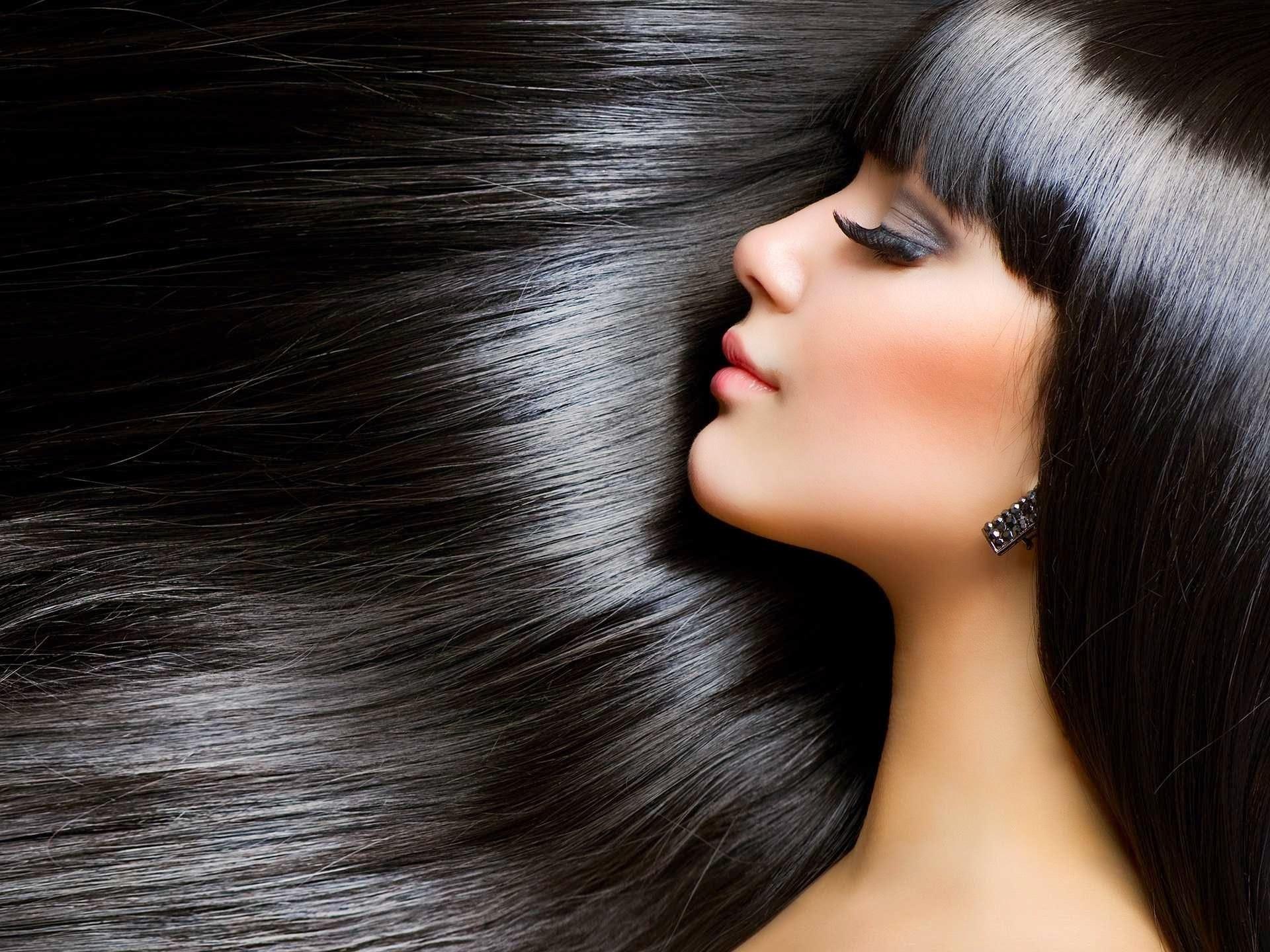 Как сделать волосы живыми блестящими
