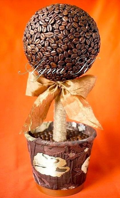Кофейно денежное дерево своими руками