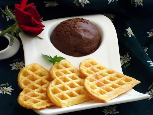 Печенье для вафельницы