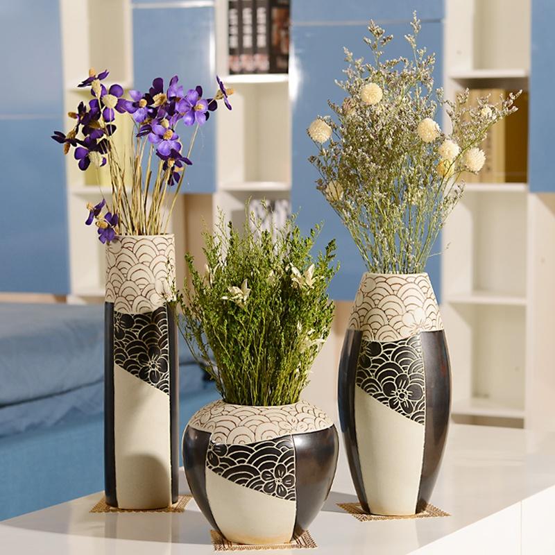 Напольные вазы в интерьере с цветами фото своими руками