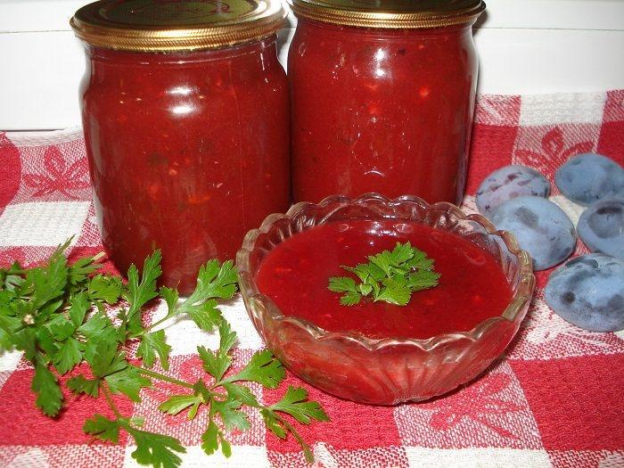 Соусы рецепты в домашних условиях на зиму