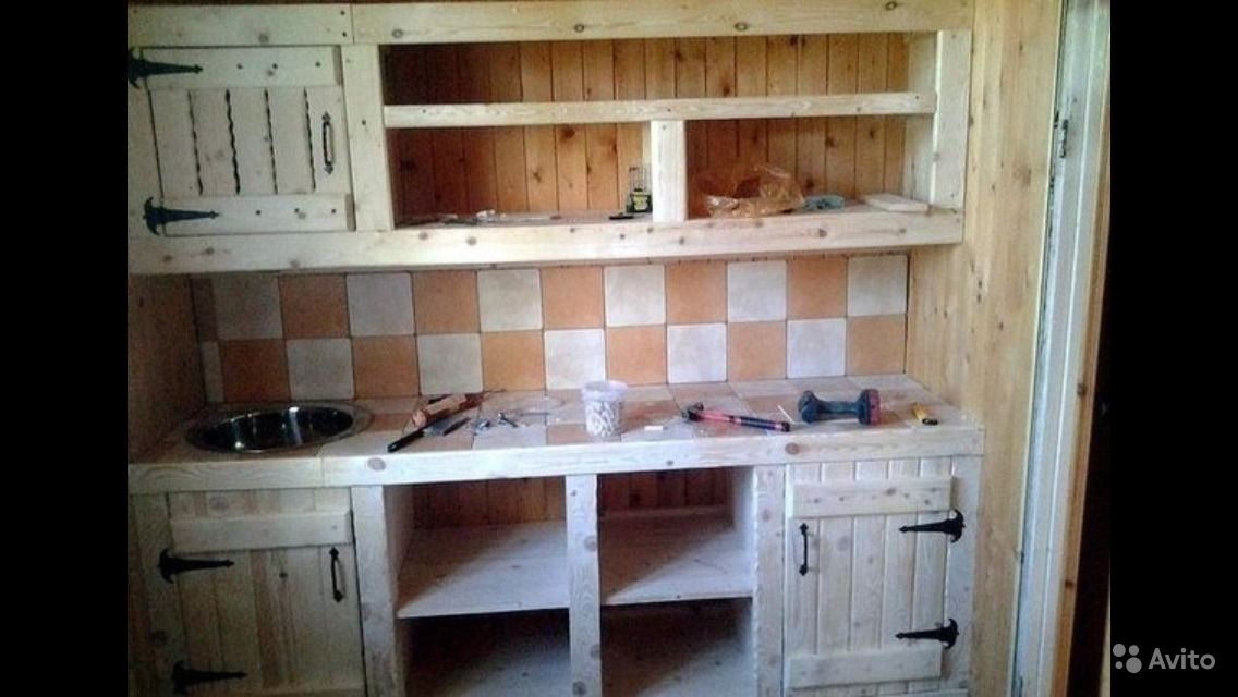 Как самому сделать кухонную мебель