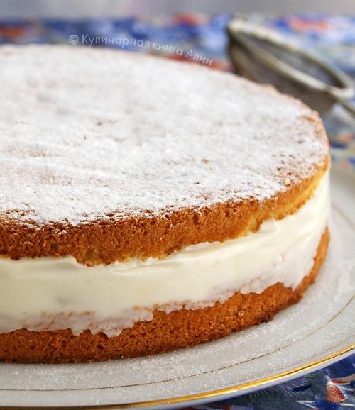 Кремы и пропитки для бисквитных тортов