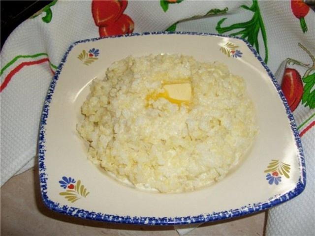 Пшенная каша на молоке рецепт с пошагово на 1 порцию