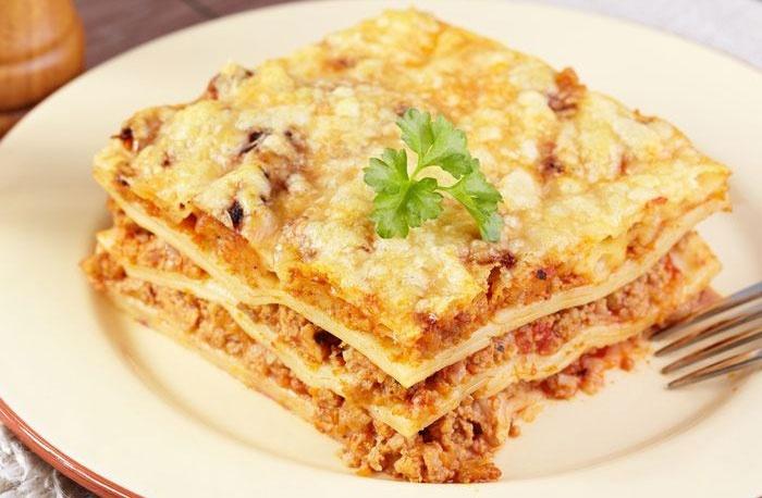 Как из лаваша приготовить лазанью в домашних условиях пошаговый рецепт с