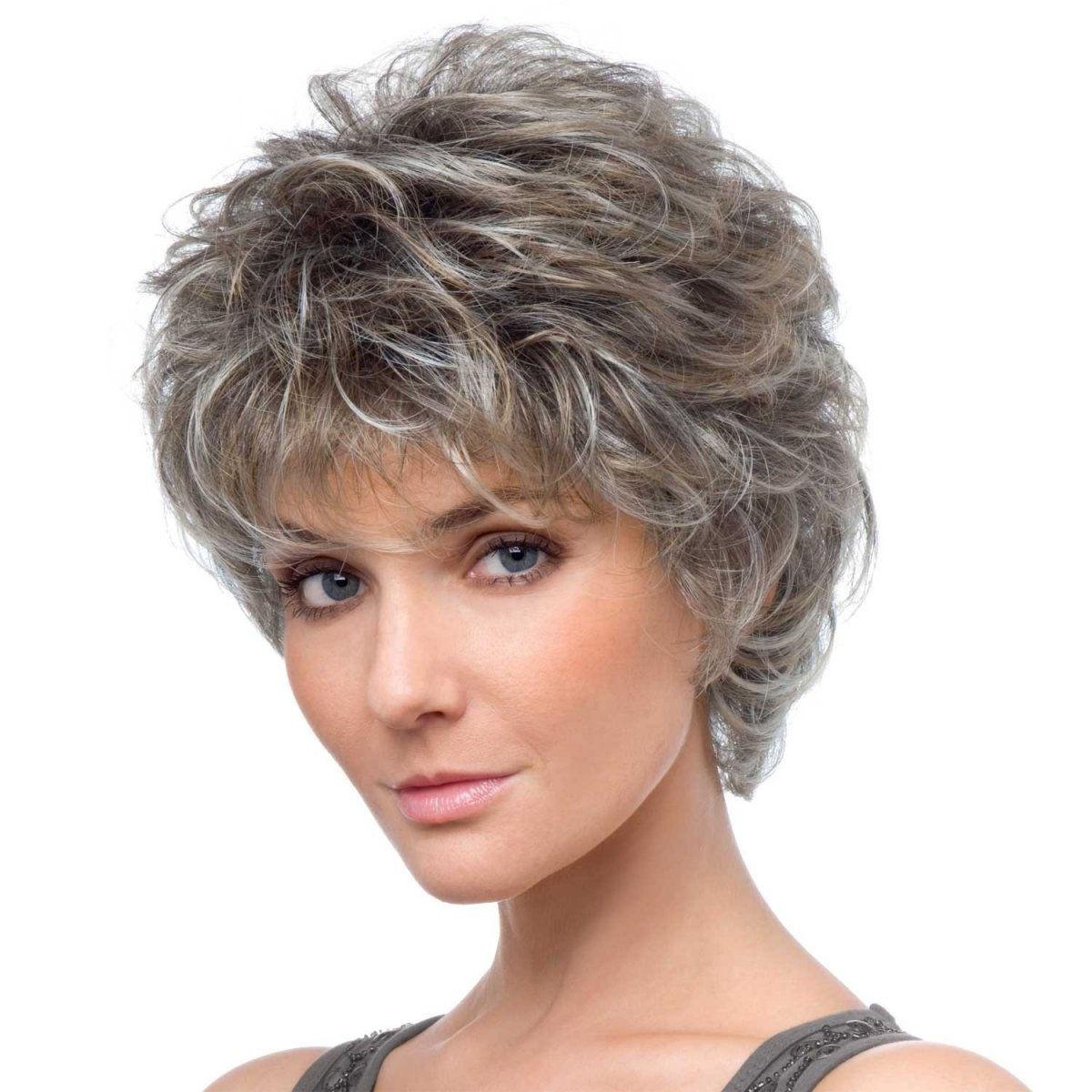 Стрижка каскад для коротких вьющихся волос