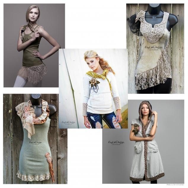 Одежда своими руками женская