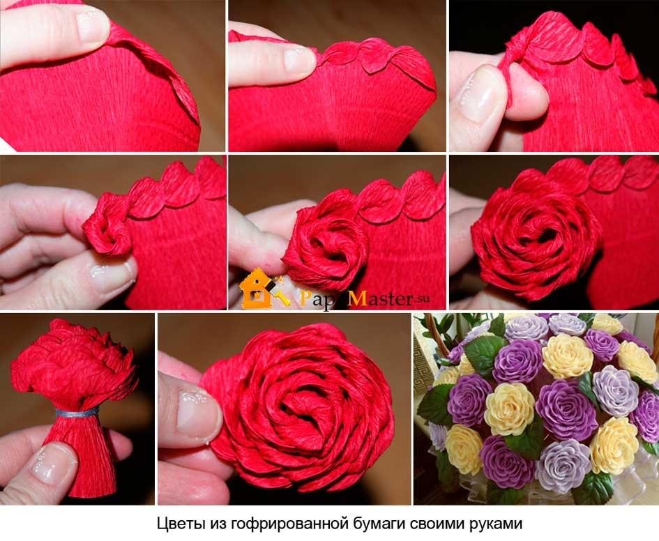 Цветок быстро своими руками