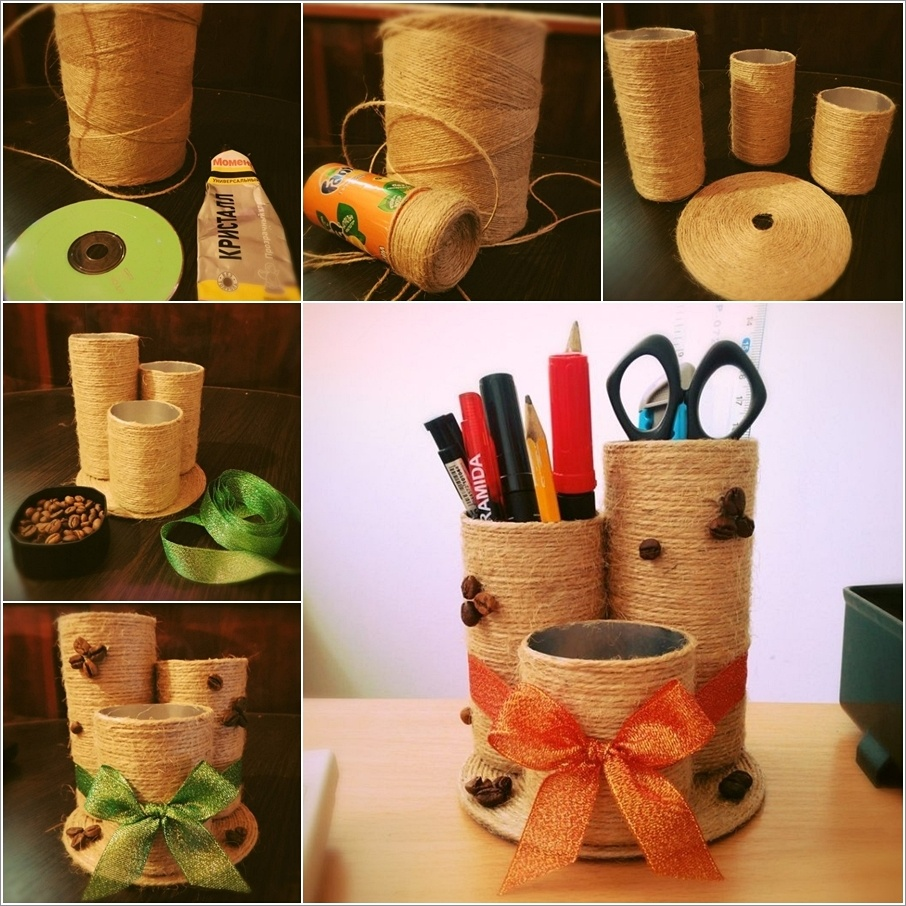 Интересные поделки своими руками из подручных материалов для дома