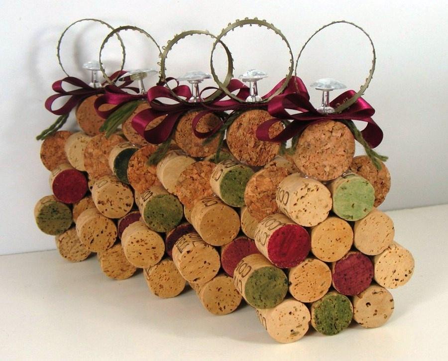 Поделки из пробки для вина