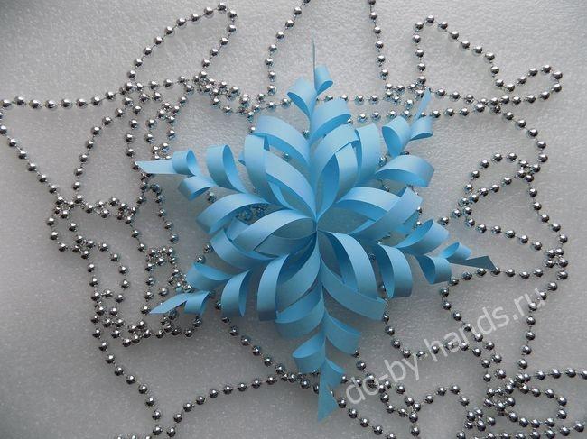 Сделать необычные снежинку своими руками