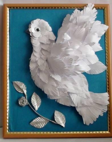 Поделки голубь мира своими руками