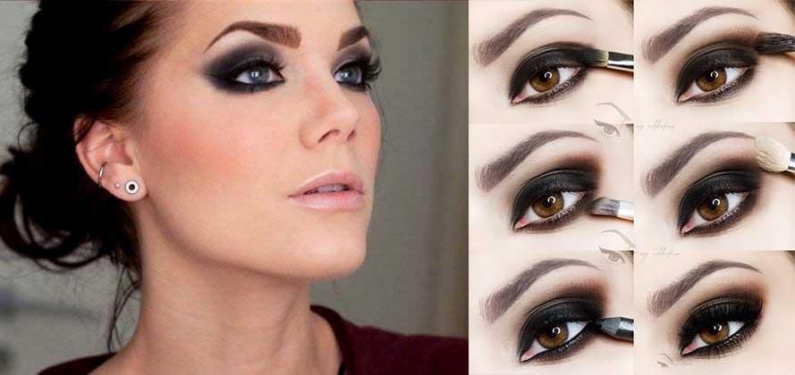 Как сделать макияж вечерний самой себе