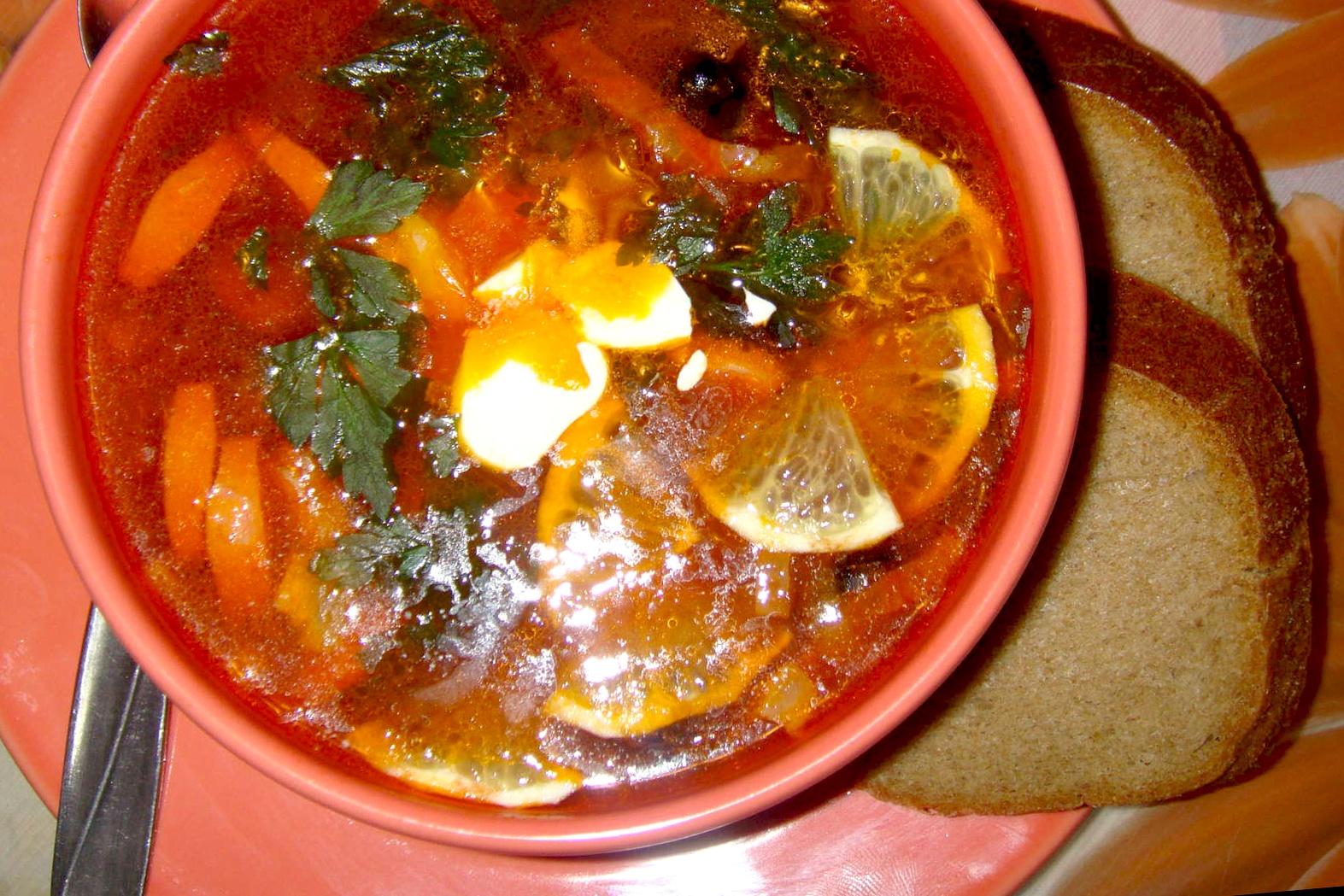 Солянка рецепт с фото пошагово классический