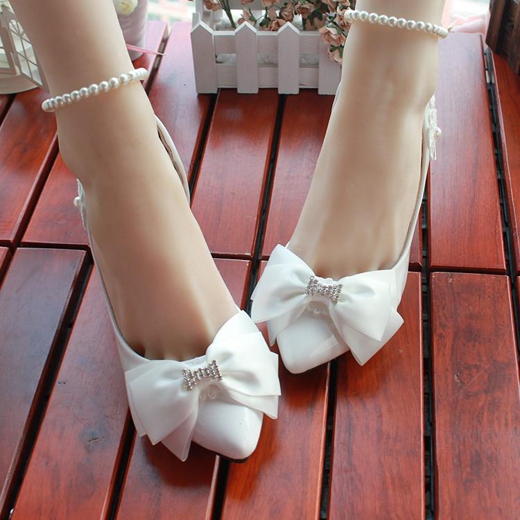 Туфли без каблуков для свадьбы