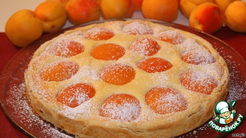 Пирог с абрикосами и творогом рецепты с