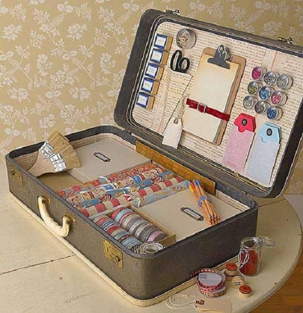 Как сделать чемоданчик для косметики своими руками