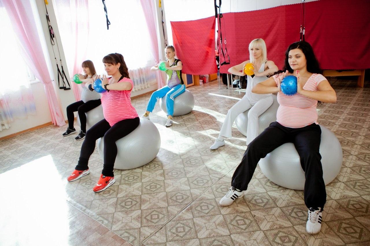 Фитнес беременных
