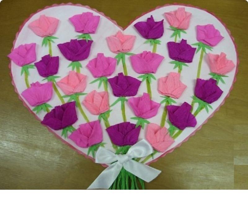 Подарок для мамы своими руками на день рождения из бумаги