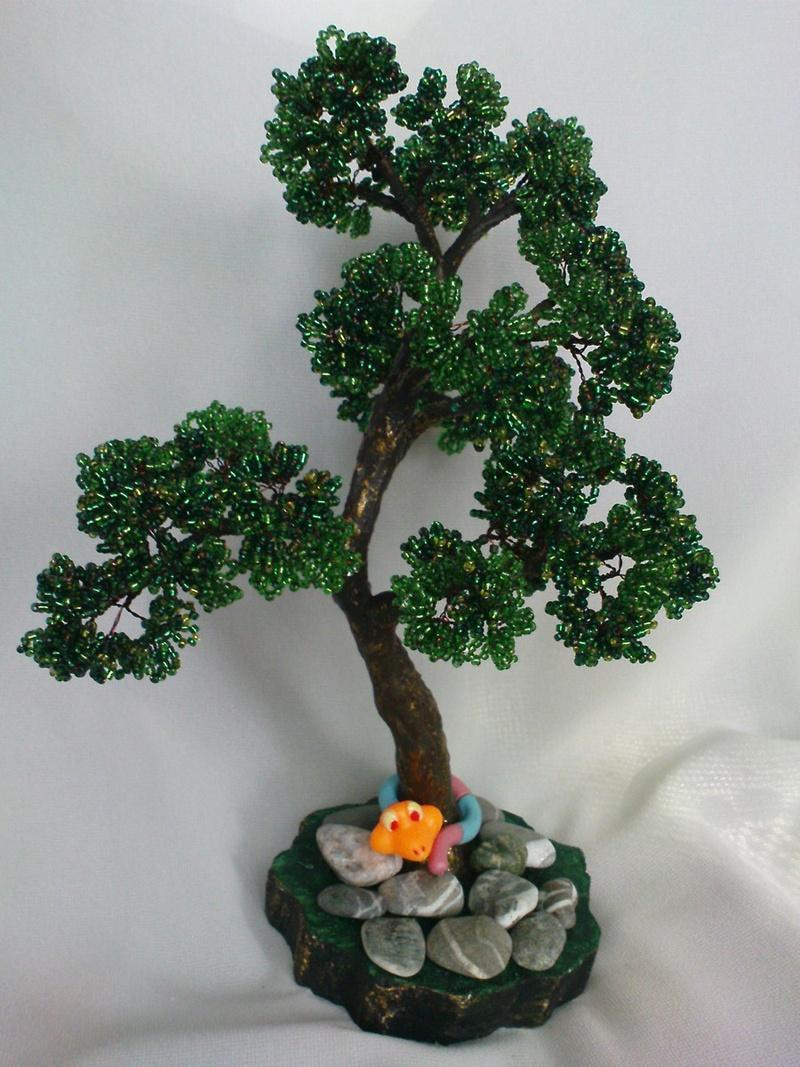 Дерево из бисера своими руками мастер класс с пошаговым фото бонсай