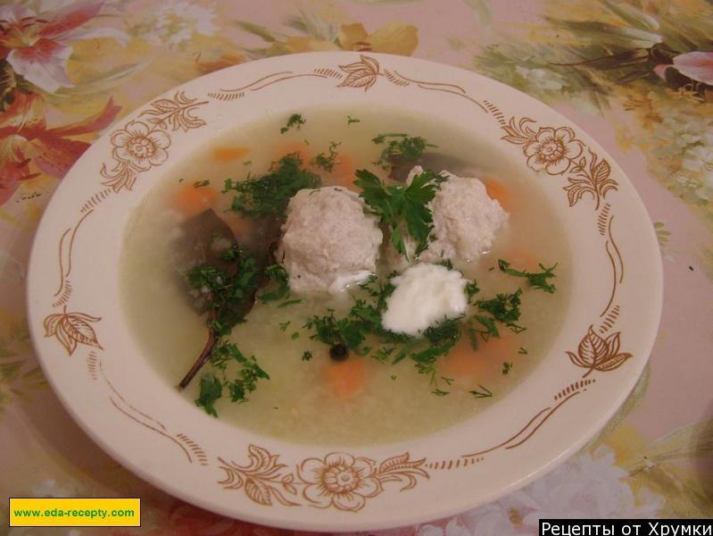 Как приготовить фрикадельковый суп с рисом