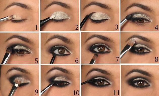 Пошаговые макияжа с инструкцией
