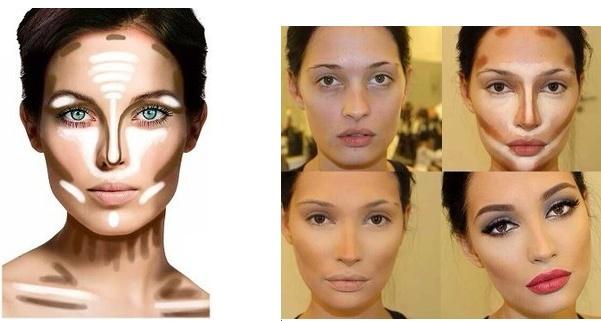 Как сделать скулы с помощью макияжа