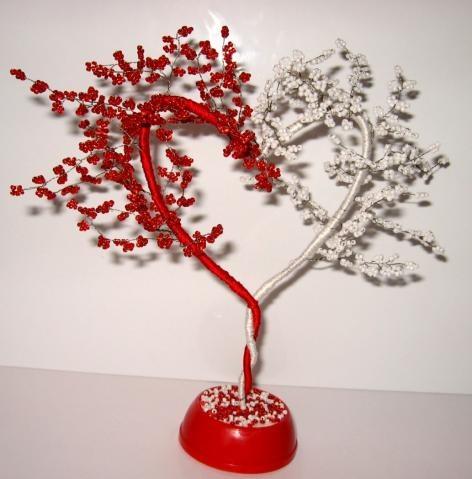 Валентинки деревья своими руками