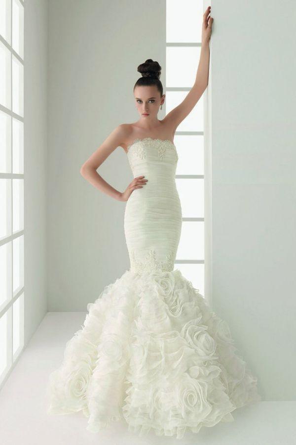Русалочка платье свадебное