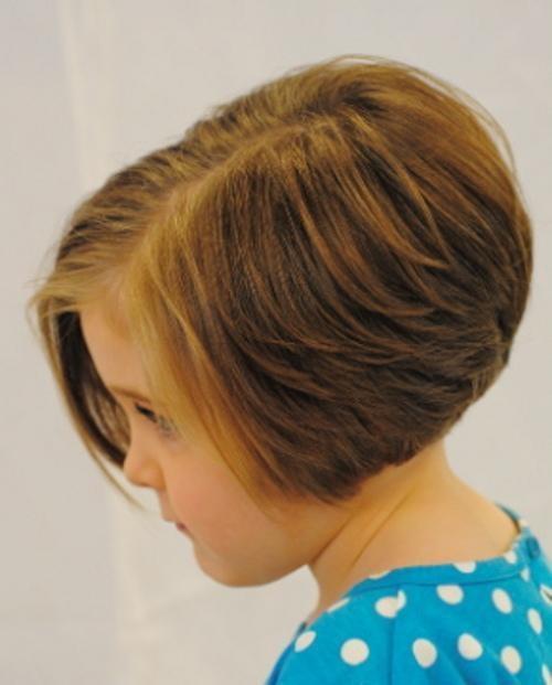 Фото детских причесок для девочек короткие волосы