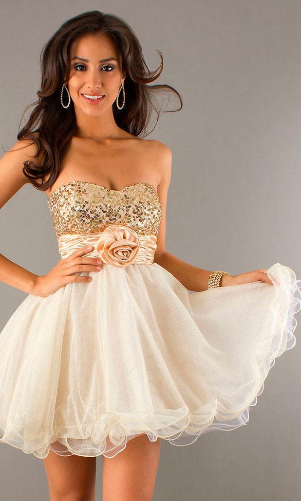Платья короткие вечерние модные