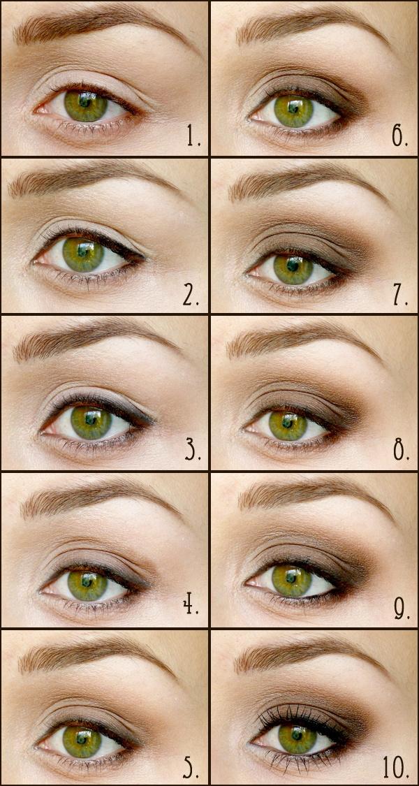 Как сделать зеленые глаза выразительными