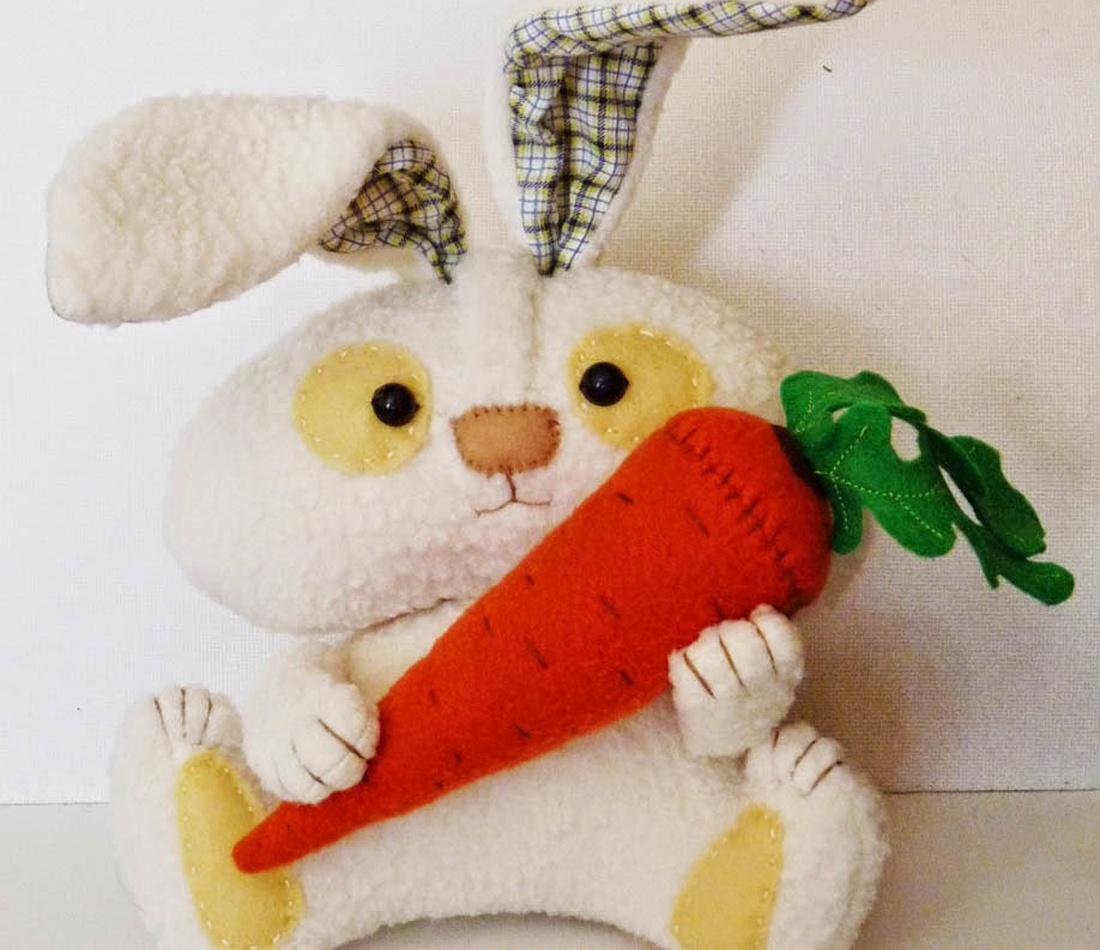 Зайчик мягкая игрушка своими руками