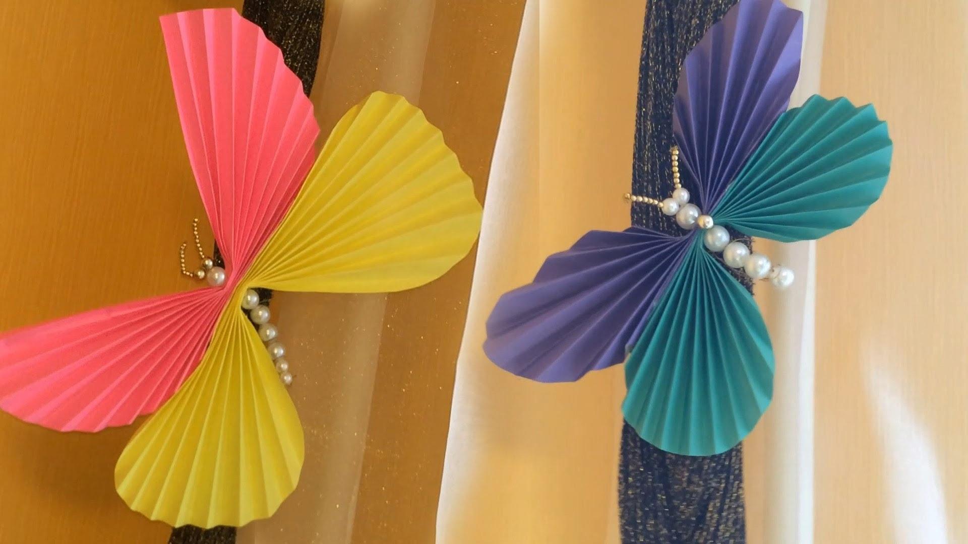 """Бабочки своими руками / Поделки из бумаги и бисера - YouTube - карточка от пользователя Orbb """"Vert1go"""" Stone в Яндекс.Коллекциях"""