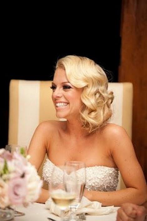 свадебные прически на каре без челки
