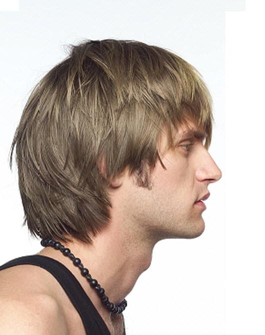 Фото мужская прическа средней длины