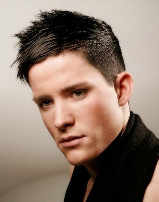 Варианты причёсок для коротких волос мужские
