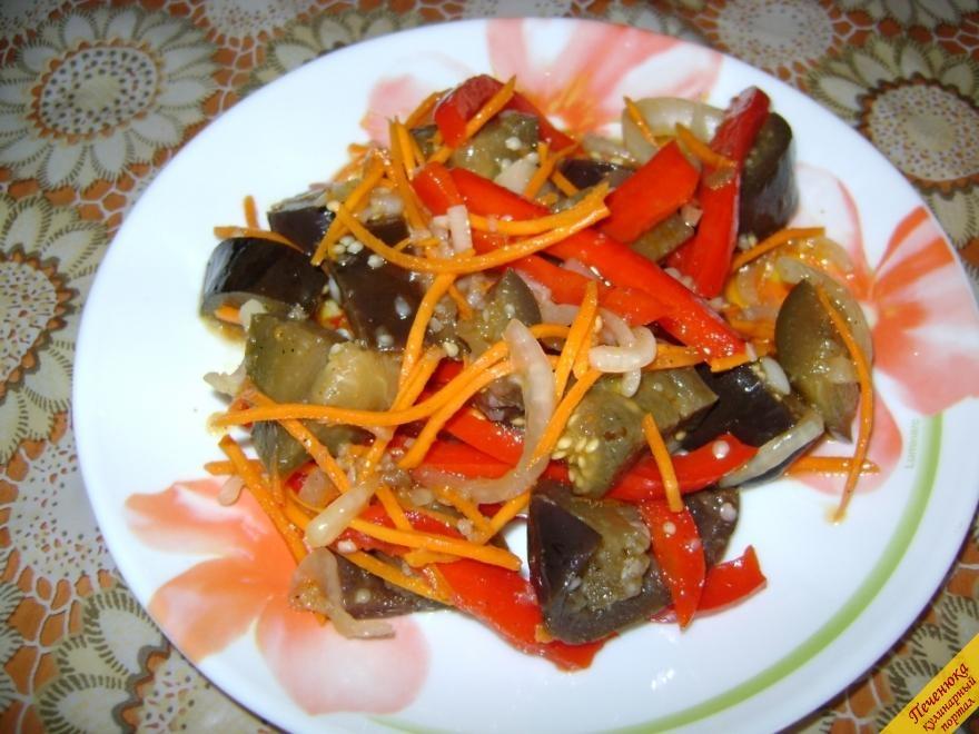 Баклажаны по корейски рецепты пошагово с фото