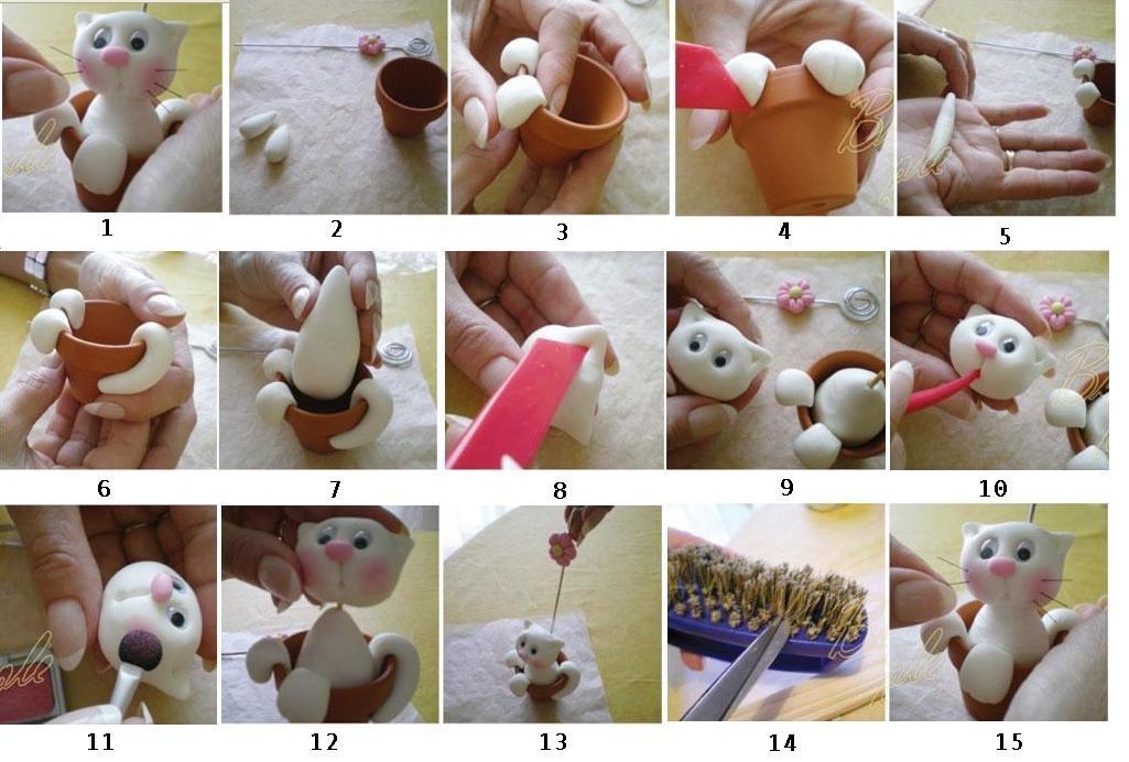 Поделки своими руками из мастики
