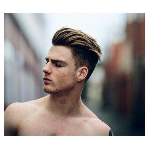 Густые волосы прически для мужчин