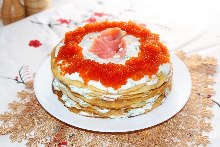 Торт блинный пошаговый рецепт