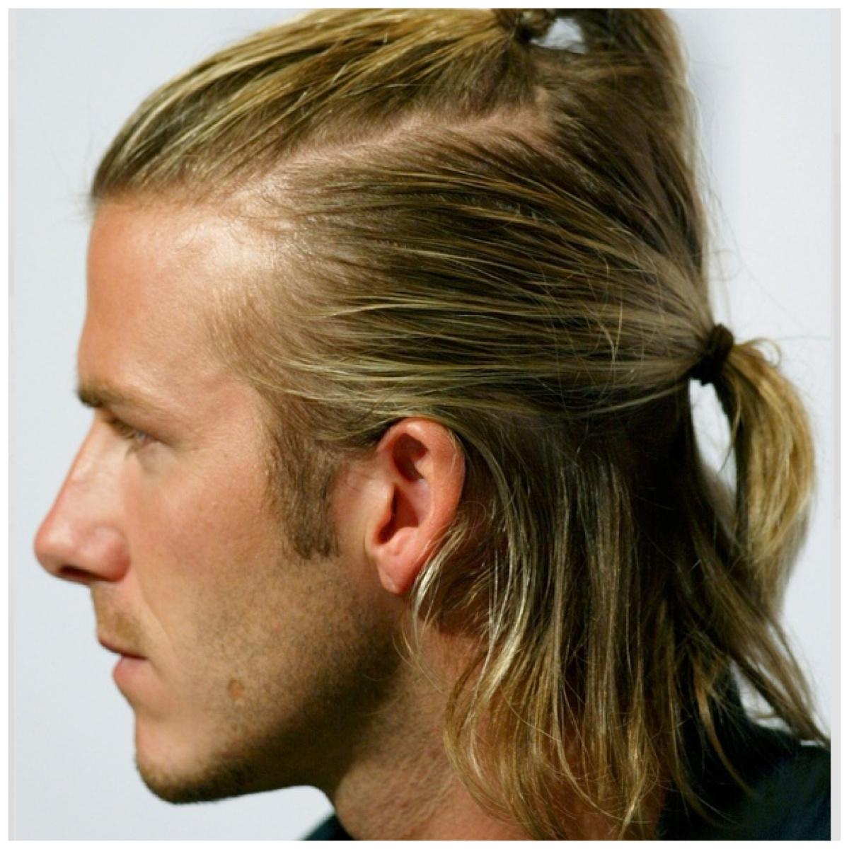 Как сделать мужские прически для длинных волос