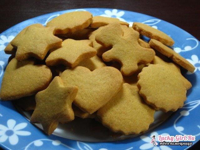 Простое песочное печенье рецепт с пошагово на маргарине