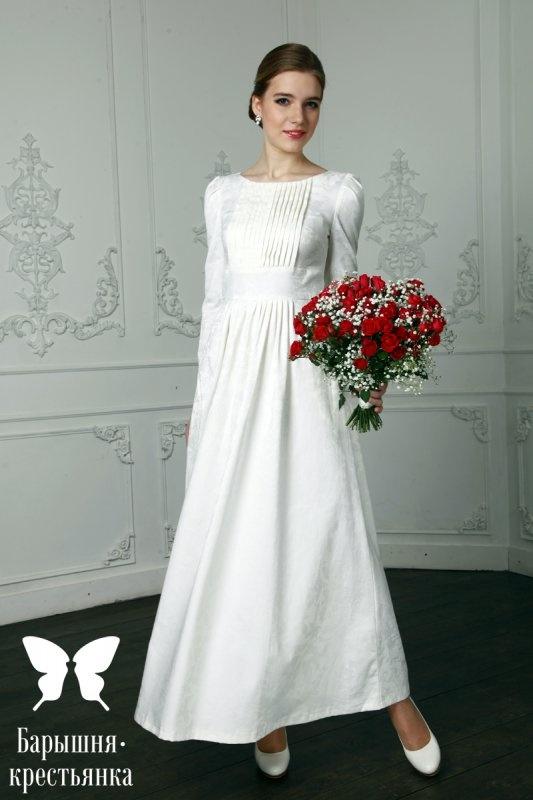 Простые платья для венчания в церкви каталог