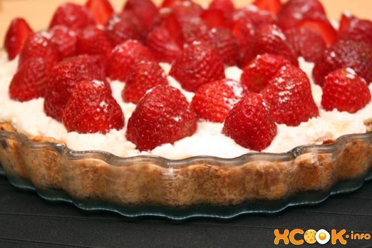 Рецепты пирогов и тортов с клубникой