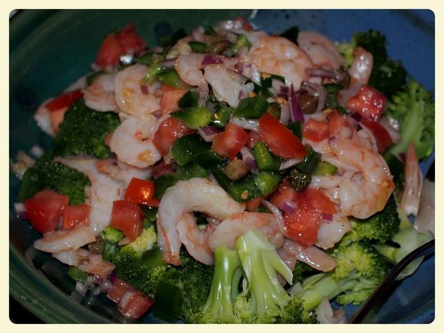 Рецепты с брокколи и креветками