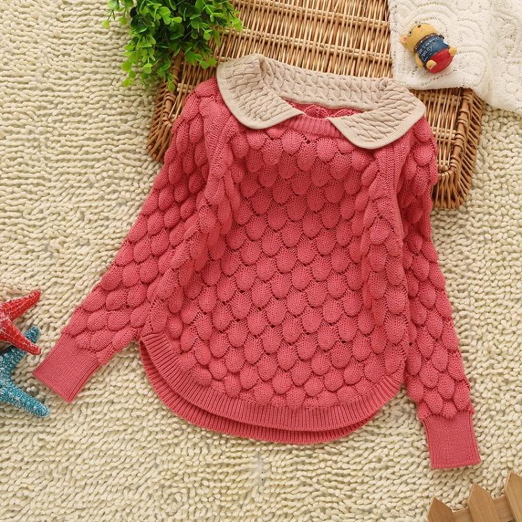 Связать детский свитерок для девочки