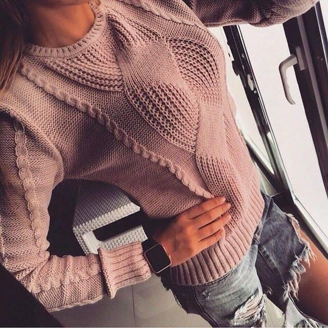Легкий свитер своими руками